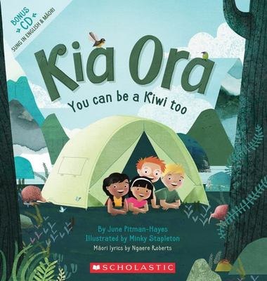 Kia Ora: You Can Be a Kiwi Too (Book & CD)