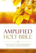 Amplified Outreach Bible: Capture The Full Meaning Behind The Original Greek And Hebrew