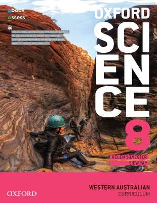 Oxford Science 8 for WA Curriculum SB + obook/assess - SECONDHAND