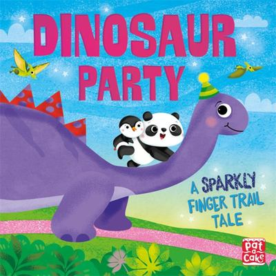 Dinosaur Party - A Sparkly Finger Trail Tale