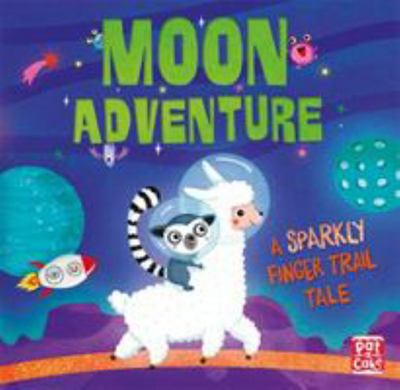 Moon Adventure - A Sparkly Finger Trail Tale