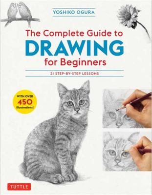 The Complete Guide to Drawing for Beginners - 21 Step-By-Step Lessons - over 450 Illustrations!