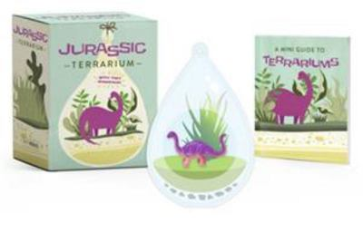 Jurassic Terrarium - With Tiny Dinosaur!