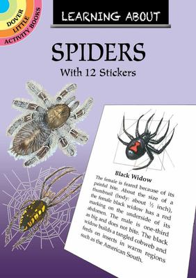 Learning about Spiders - With 12 Stickers