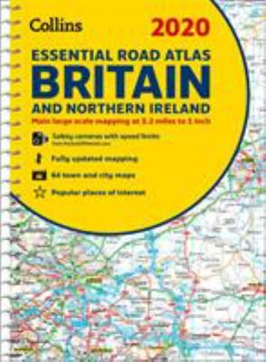 2020 Collins Essential Road Atlas Britain