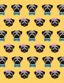 Flexi Journals: Pug With Bow