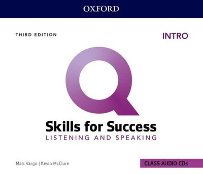 Q: Skills for Success: Intro Level: Listening and Speaking Audio CDs - Intro Level Listening and Speaking Audio CDs