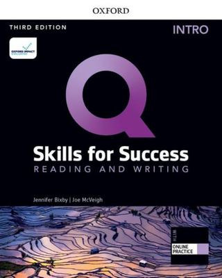 Q: Skills for Success: Intro Level: Reading and Writing Student Book and IQ Online Practice - Intro Level Reading and Writing Student Book and IQ Online Practice