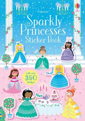 Sparkly Princess Sticker Book