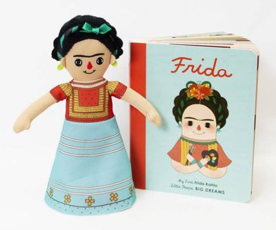 Frida Kahlo Deluxe Doll and Book Set