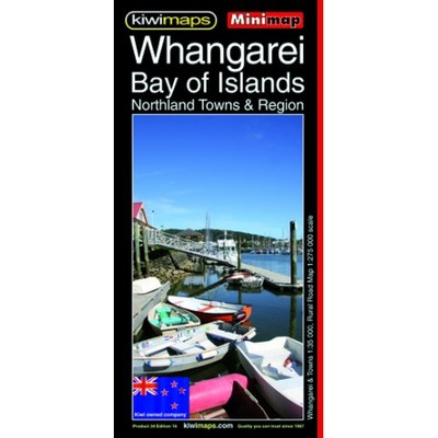 Kiwi Maps Whangarei-Bay of Islands