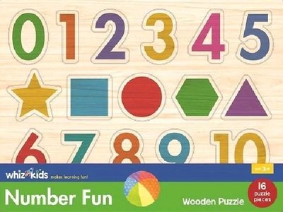 Numbers & Shapes Wooden Puzzle