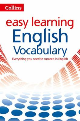 Collins Easy Learning: English Vocabulary