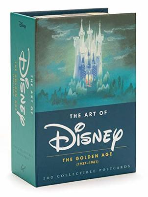 The Art of Disney: The Golden Age (1937-1961) POSTCARDS