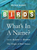 Birds: Whats In A Name