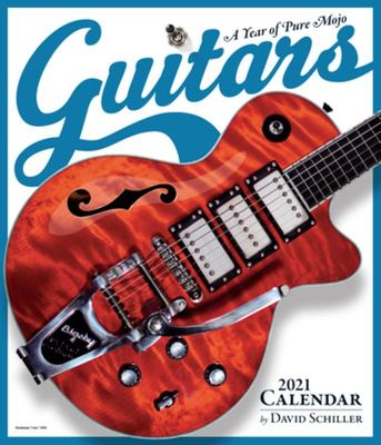Guitars Wall Calendar 2021