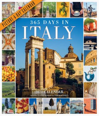 365 Days in Italy Picture-A-Day Wall Calendar 2021