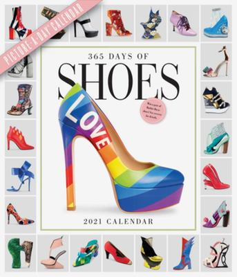 2021 365 Days of Shoes Picture-A-Day Deluxe Wall Calendar