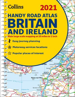 2021 Collins Handy Road Atlas Britain and Ireland