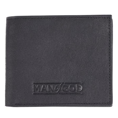 Wallet Tin Leather Man of God