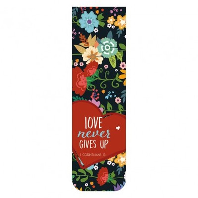 Bookmark Magnetic - Love Never Gives Up