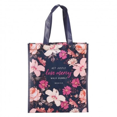 Tote Bag Act Justly Love Mercy