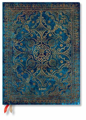 Paperblanks Diary 2021 - Azure Ultra - Day-at-a-time