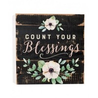 Homepage plaquecountyourblessings