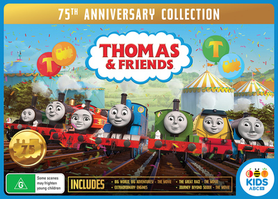Thomas the Tank Engine 75th Anniversary Collection