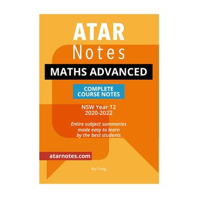 Large 9781925945607 year 12 maths advanced notes