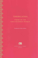 Therigatha - Poems of the First Buddhist Women