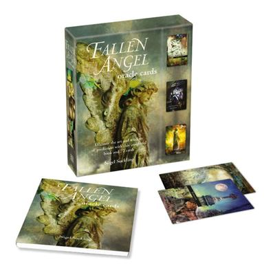 Fallen Angel Oracle Cards - Discover the Art and Wisdom of Prediction with This Insightful Book and 72 Cards