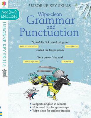 Large wipe clean grammar punctuation 8 9