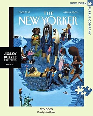 City Dogs New Yorker  1000 Piece Jigsaw Puzzle