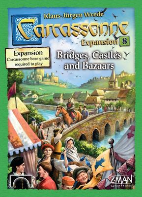 Carcassonne - Bridges, Castles & Bazaar (Expansion #8)