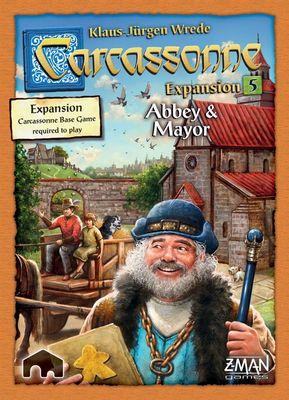 Carcassonne - Abbey & Mayor (Expansion #5)