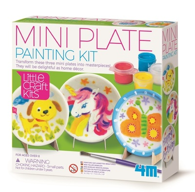 Mini Plate Painting Kit (Little Craft Kids)