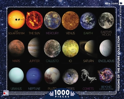Large edited new yorker solar system jigsaw puzzle