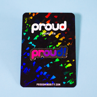 Pin – Proud Bisexual (Proud Minority)