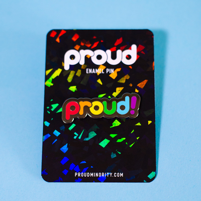 Pin – Proud Rainbow (Proud Minority)