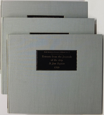 Early Eyewitness Accounts of Maori Life Volumes 1, 2, 3 & 4 in three volumes. Extracts from Journals Relating to the Visit to NZ … Volume 1: … of the French Ship St Jean Baptiste in December 1769 under the Command of J. F. M. de Surville; Volume 2: … in M