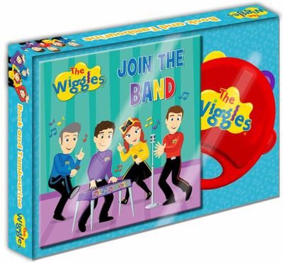 The Wiggles Book and Tambourine