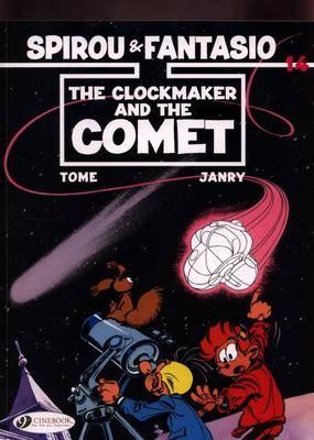 Spirou and Fantasio Vol. 14 - The Clockmaker and the Comet