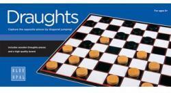 DRAUGHTS GAME BLUE OPAL
