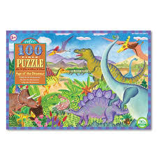 Age of the Dinosaurs: 100-Piece Jigsaw Puzzle (EB-PZAOD)