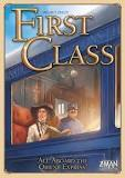 FIRST CLASS ALL ABOARD THE ORIENT EXPRESS! BOARD GAME