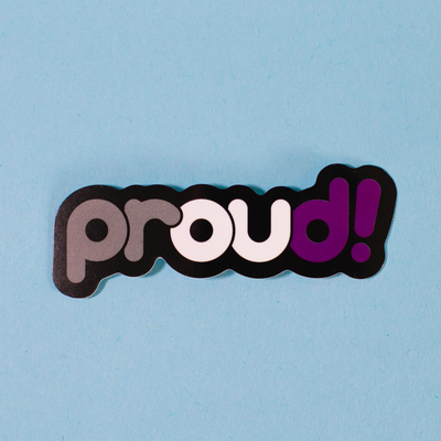 Sticker – Proud Asexual (Proud Minority)