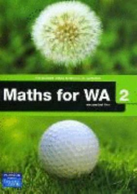 MATHS FOR WA 2 COURSEBOOK & CD-SECONDHAND