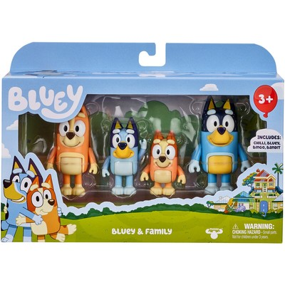 Bluey Season 4, 4-Pack Assorted Toy