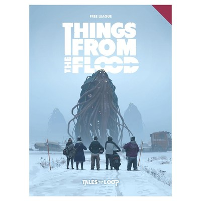 Things from the Flood (90s Era RPG, Hardback)